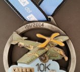 """Todo Trofeo"" manufactures the medal for the competition ""10km Villa del Juguete"" one more year"