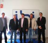 Finnish businessmen visit some companies in Ibi